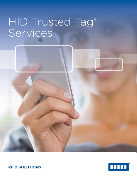 HID Trusted Tag® Services Brochure