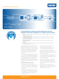 HID Trusted Tag Services Datasheet